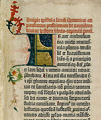 For the earliest printed books, or incunabula, such as the Gutenberg Bible, printers sought to mimic the hand written manuscripts with which 15th cent scholars were familiar; in much the same way publishers now seek to replicate printed books as ebooks.